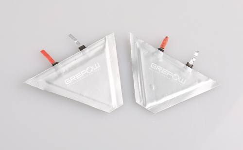 Grepow flexible Triangle Lipo Batteries