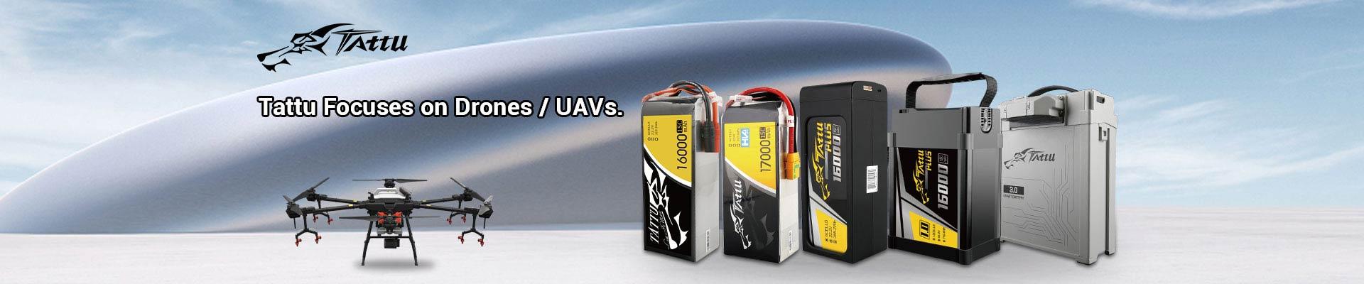 Tattu UAV battery