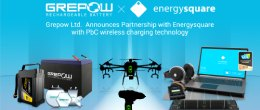 Grepow Ltd. Announces Partnership with Energysquare with PbC® contact-based wireless charging technology