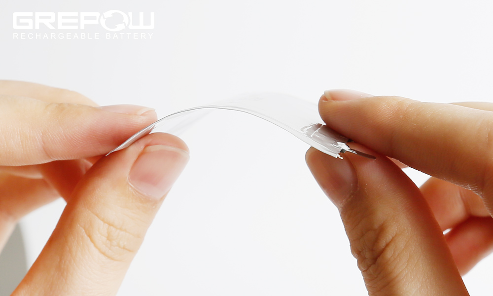 GREPOW Flexible Ultra Thin LiPO Batteries