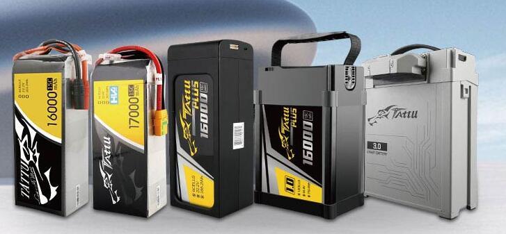 Grepow Tattu UAV batteries