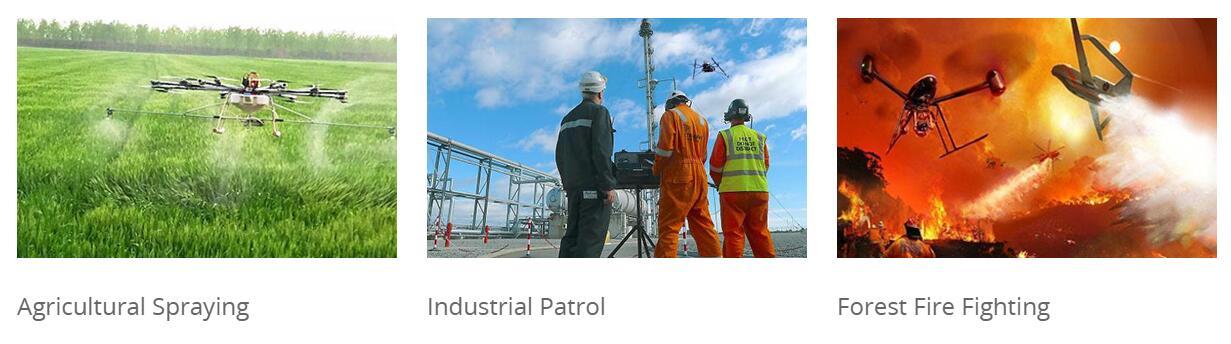 Industrial UAV applications