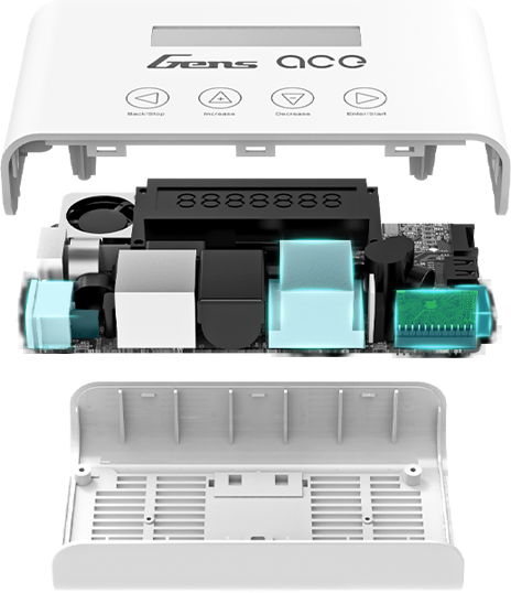 technology feactures of Gens ace Imars3 charger ac to dc