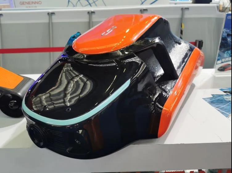 Geneinno's new powerful underwater drone-info from grepow
