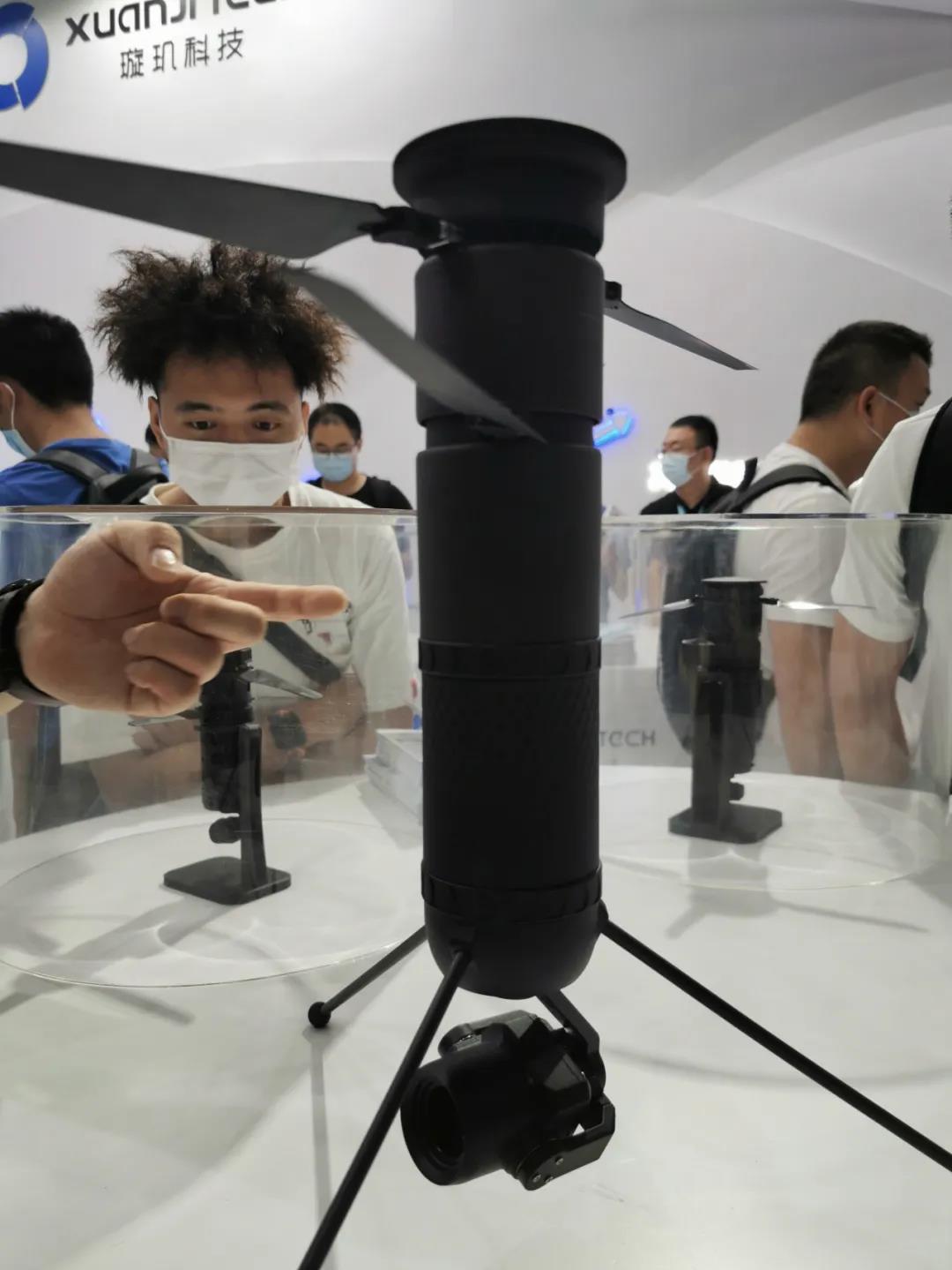 xuanji tech - uav exhibition - grepow share info