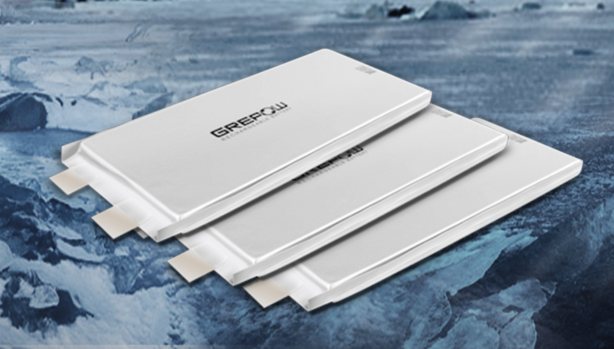 Grepow Low-Temperature Battery breaking thought to -55℃ / -67℉ discharge