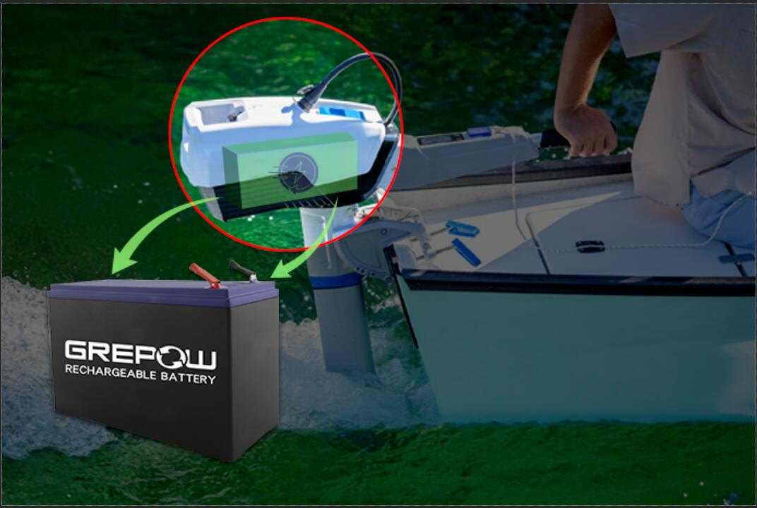 GREPOW Electric Outboard Motor Battery