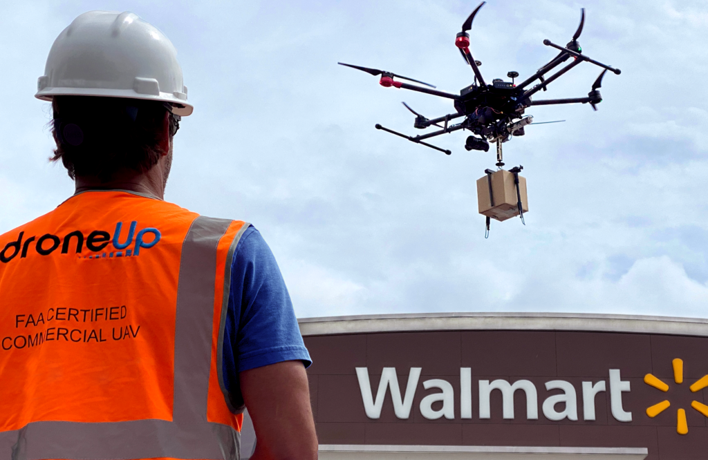 Drone Delivery Gathers Pace - Walmart Invests in DroneUp