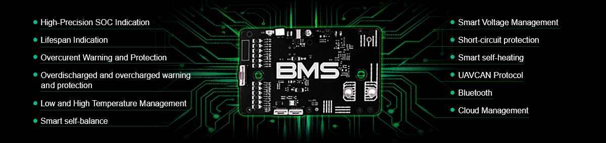 grepow drone smart battery - BMS