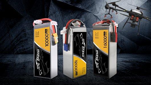 Tattu battery for UAV, RC, VTOL, Quadcopter, Multirotor, Hexacopter etc.