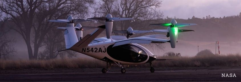 NASA will test an eVTOL as part of the AAM National Campaign